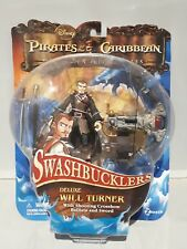 Disney Pirates Of The Caribbean Swashbucklers (Will Turner) 2008 Action Figure