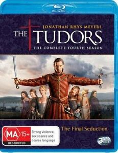 The Tudors : Season 4 (Blu-ray, 2010, 3-Disc Set) Region B - NEW+SEALED