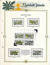 MARSHALLS/MICRONESIA/PALAU 1983/85 MLH/MNH COLLECTION on x39 PAGES FV.$89.00