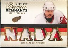 2009-10 O-Pee-Chee Premier Remnants Game-Used Patches/10-Steve Yzerman