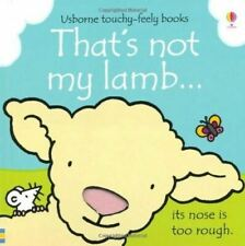 That's Not My Lamb... by Fiona Watt - Usborne Touchy-Feely