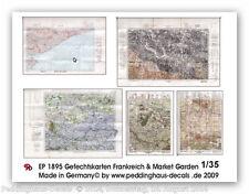 Peddinghaus 1895 1/35 Mappe di battaglia Francia e Market Giardino-