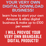 Amazon & eBay Business Opportunity: Your Own Home Digital Business: SEE VIDEO