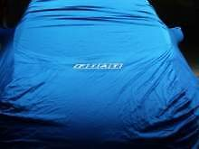 FIAT PUNTO TELO COPRIAUTO CAR COVER Colore Blue ORIGINALE con logo Fiat