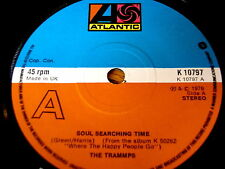 """THE TRAMMPS - SOUL SEARCHING TIME    7"""" VINYL"""
