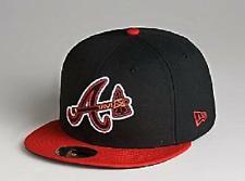 Neon Atlanta Braves Custom New Era Hat MLB Cap 7 1/4