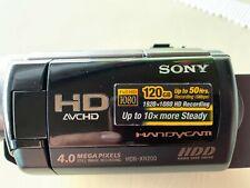 Sony HDR-XR200VE 120 GB HDD Camcorder wie NEU