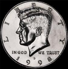 1998 D Kennedy Half Dollar - BU