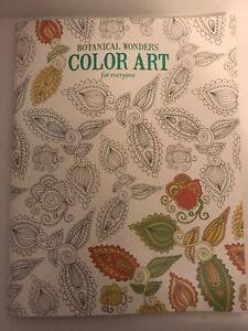 Botanical Wonders Color Art for Everyone Coloring Book