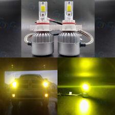 5202 PS24WFF 3000K Yellow 8000LM Cree Led Headlight Bulbs Kit Fog Driving Light