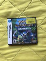 Pokemon Mystery Dungeon: Explorers of Time (Nintendo DS, 2008) CIB