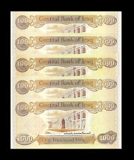 5,000 New Iraqi Dinar (5 X 1,000) New Uncirculated Lot Of 5 Only 24 Sets Left
