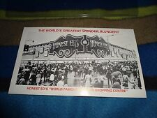 SIGNED ED MIRVISH HONEST ED'S STORE 40TH ANNIVERSARY POSTCARD STAMP AUTHENTICITY