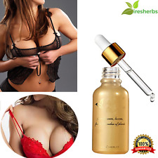 #1 BEST PURE NATURAL BIG BOOBS BREAST ENLARGEMENT SKIN CARE ESSENTIAL OIL 30 ML