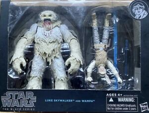 STAR WARS THE BLACK SERIES LUKE SKYWALKER AND WAMPA ACTION FIGURE SET