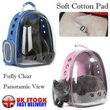 UK Puppy Travel Space Capsule Shoulder Bag Pet Outdoor Carrier Backpack Cat Dog