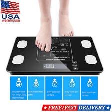 Digital Bathroom Body Smart Fat BMI Analyzer Health Fitness Weight Scales 396LB