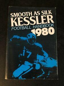 1980 KESSLER SMOOTH AS SILK FOOTBALL HANDBOOK NFL NCAA LAWRENCEBURG INDIANA