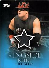 CO 2009 Topps WWE Ringside Relics #TMH The Miz H (looking left)