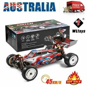 Wltoys 104001 RC Car 1/10 2.4G 4WD Remote Control Metal Off-Road Vehicles 45KM/H