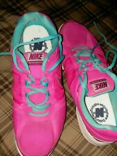 Nike Air Relentless 3 Trainers Women's Running Shoes Sz 11 Pink.new insoles(A1)