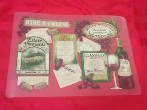 WINE THEME PLACE MATS