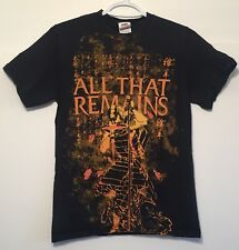 All That Remains Heavy Metal Band T-Shirt Music Band Black Small