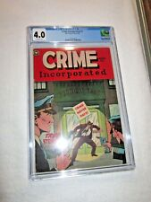 Crime Incorporated #2 1950 Fox Features Synd. 1950 CGC 4.0