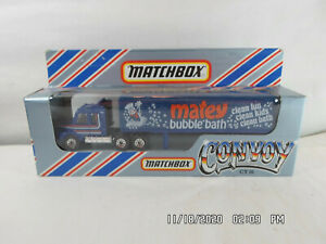 Matchbox International Ltd.CY16 Convoy 1983 Scania Box Truck Matey Bubble Bath