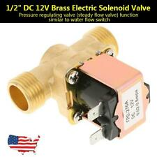 Dc 12v 12 Normally Closed Electric Solenoid Valve Brass Tool For Water Control