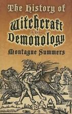 History of Witchcraft and Demonology Book Wiccan Pagan Witchcraft