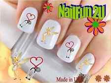 Nail Art #579 IMAGE Nurse 1 Tinkerbell WaterSlide Nail Decals Transfers Sticker