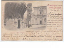 CARTOLINA BRINDISI - DUOMO E LOGGIA BALZAMO - 1898