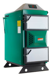 40kW Angus Super Wood Log Boiler (grants available under RHI for 20 years)