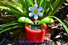 Flip Flap Solar Power Dancing Flower - Red Flower