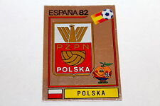Panini WM WC ESPANA 82 1982 – BADGE WAPPEN SCUDETTO No. Nr. 54 POLAND POLSKA