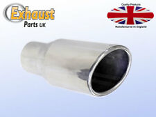 Slash Cut Exhaust Tail Pipe Stainless Steel Sports Trim