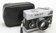 Rollei 35 S, vintage analog compact 35mm camera & Rollei HFT Sonnar 2,8/40 lens