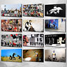 Banksy Canvas Print Picture Wall Art Graffiti Collection Free Fast Delivery