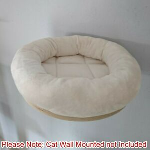 Handmade IVORY Removable Cat Bed Replacement for Natural Paradise Wall Mounted