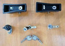 Alfa Romeo Spider Original Lock Set Gas Latch,Trunk Latch,Glove Box, Door Lock