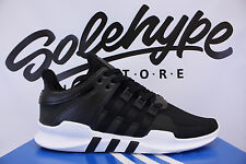the best attitude 85407 50fea ... ADIDAS EQT SUPPORT ADV MILLED LEATHER PACK CORE BLACK WHITE 9116 BB1295  SZ 12 Adidas Ultra Boost 9317 ...