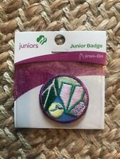 Girl Scout Junior Patch Badge Camper NEW