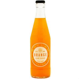 Boylan's Orange Soda Pop - 6 BOTTLES - Glass Bottle Soda Pop
