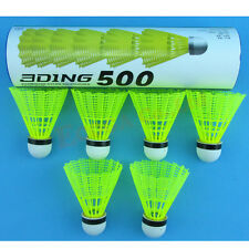 18 Pcs Nylon plastic badminton shuttlecock shuttle jianzi shuttlecocks volant
