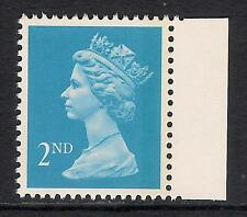 GB 1992 sg1451a 2nd Blue litho right band perf 15x14 booklet stamp MNH