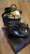 DC Comics Batman everlasting w/removeable capes Rain Boots,boys toddler 7,NIB