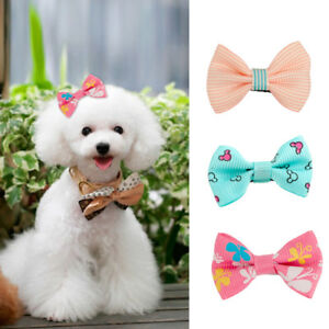 50/100Pc Pet Dog Bowknot Hair Band Hair Clips Bow Tie Dog Grooming Accessories