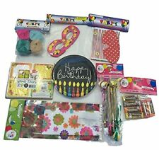 Birthday Party Supplies Bundle for Kids Boys Girls 100+ Pieces Games Prizes