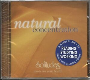 Natural Concentration (Solitudes) CD Album